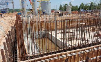Construction de fondation